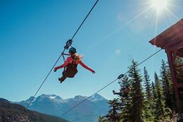 Add Off Road Tour and Ziplining to list of things to do in Whistler