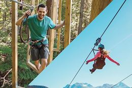 Whistler Zipline and Aerial Obstacle Course