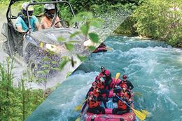 White Water Rafting - Off Road RZR, Whistler
