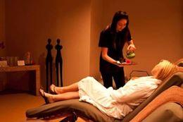 Unwinding with Lady's Spa Day treatment at Toronto day spa Novo Spa, Breakaway Experiences.