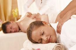 Couples massage at premier urban retreat spa in Toronto's stylish Yorkville neighborhood