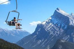 Banff Sightseeing Chairlift at Mt. Norquay in Banff National Park.