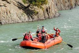 Jasper Rafting Float Trip on the Athabasca River