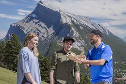 Banff sightseeing tour summer wildlife
