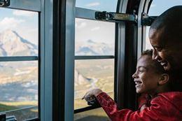 Banff  Gondola family things to do in Banff