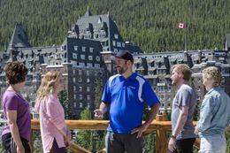Fairmont Banff Hotel on Banff sightseeing tour