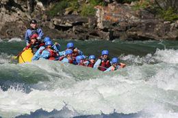 Horseshoe Canyon White water rafting Banff