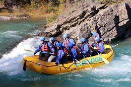 white water rafting Banff - Kananaskis River