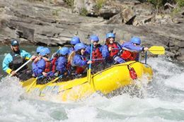 Banff White water rafting Banff Bow River