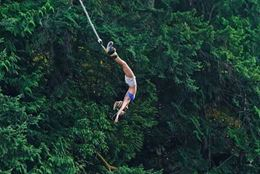 Picture of Bungy Jumping, Nanaimo.