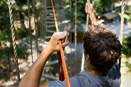 WildPlay Victoria high ropes course