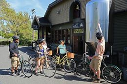 Tour by Bicycle,  to Victoria BC beer microbreweries.