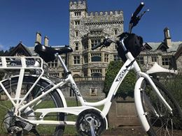 Victoria BC tour by e-bike, sightseeing and attractions