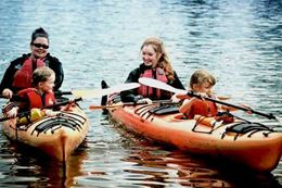 Pacifica Paddlesports Brentwood Bay Guided Kayak Tour,