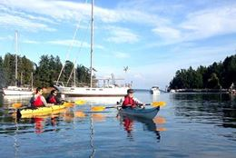 Vancouver Island Kayaking Tour  of Gulf Islands from Swartz Bay