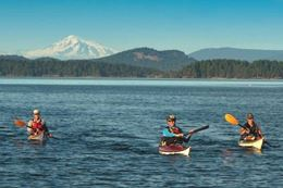 Kayaking Tour  of Gulf Islands from Swartz Bay, Vancouver Island