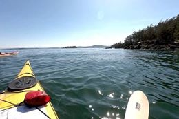 Kayaking the Gulf Islands from Swartz Bay, Vancouver Island