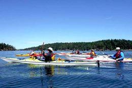 Swartz Bay, Vancouver Island - guided kayaking tour