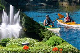 Brentwood Bay Kayak Guided Tour and Butchart Gardens Visit