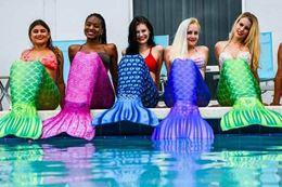 Montreal mermaid aqua fitness class