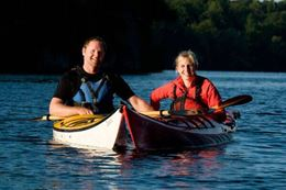 Discover the 1000 Islands on a guided kayak tour.