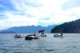 Guided full day Seadoo tour from Granville Island, Vancouver