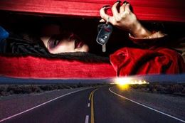 A Vampire Outing Adventure Drive -an interactive scavenger hunt style driving adventure around Caledon Ontario