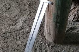 Learn the art of blacksmithing from an expert blacksmith and forge your own Celtic style sword.