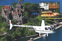 1000 Islands Helicopter and Cidery Tour