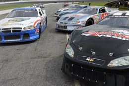 Drive a race car at Delaware Speedway. A NASCAR style racing experience.