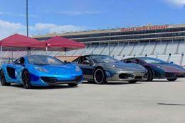 Drive a Ferrari, McLaren or Lamborghini on an autocross racing track at Atlanta Motor Speedway.