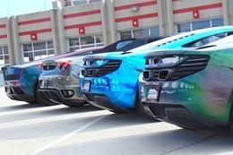 Drive a Ferrari, McLaren or Lamborghini on an autocross racing track at Tucson, Arizona