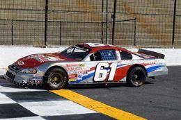 Motor Mile Raceway driving a stock car experience, Virginia.