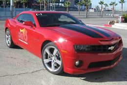 Experience the thrill of flying down the drag strip at Wild Horse Pass Motorsports Park in a Camaro SS.