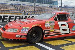 race a NASCAR stock car at Bristol Motor Speedway, Tennessee