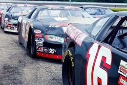 Buckle up and drive a NASCAR style race car at Caraway Speedway North Carolina
