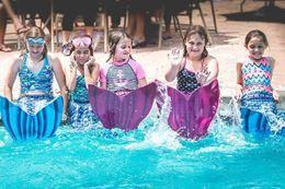 swim like a mermaid, Austin, Texas
