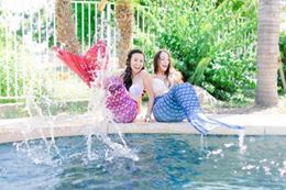 Learn how to swim like a mermaid, Las Vegas, Nevada