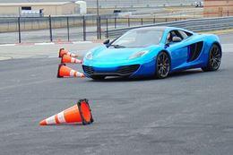 Drive a McLaren on an autocross racing track