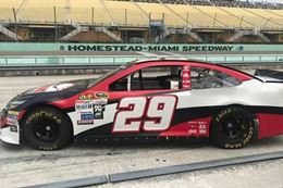 Drive a stock car like the NASCAR pros do at Homestead Miami Speedway, Miami FL