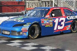 Drive a NASCAR style race car like the pros do at Kentucky Speedway