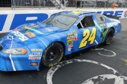 Drive a race car like the NASCAR pros do at New Hampshire Motor Speedway